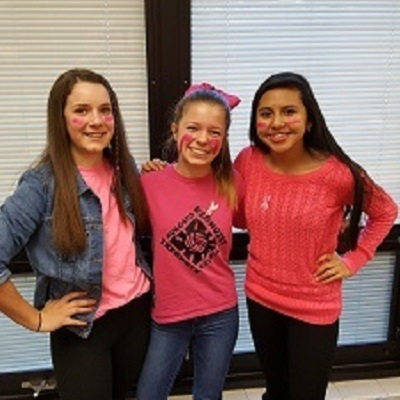 KMS Wears Pink for Breast Cancer Awareness