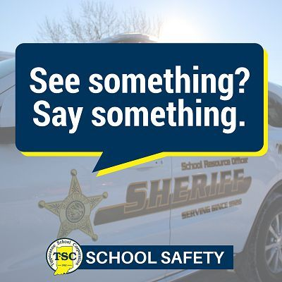 School safety message